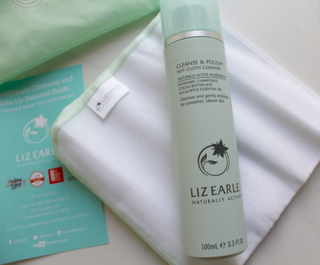 Liz Earle Cleanse and Polish Hot Cloth Cleanser review. Nourish ME: www.nourishmeblog.co.uk