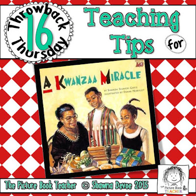 A Kwanza Miracle by Sharon Shavers Gayle TBT - Teaching Tips.