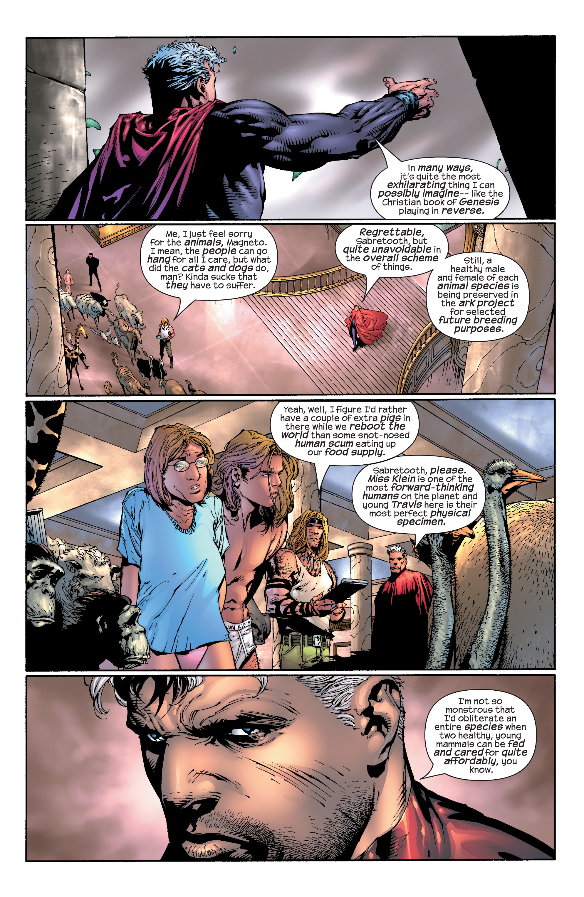 Read online Ultimate X-Men comic -  Issue #30 - 4