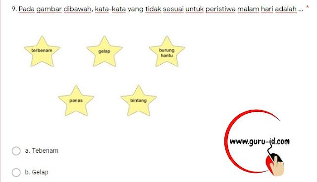 gambar tugas online kelas 1 SD