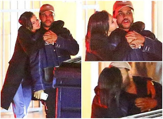 Selena Gomez é flagrada beijando o músico The Weeknd