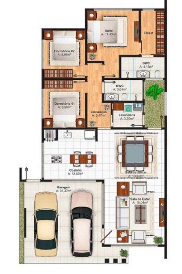 Plano de casa de 250 m2 planos de casas gratis y for Planos para construccion de casas