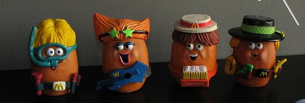 Vintage Mcdonalds Happy Meal Toys in Singapore