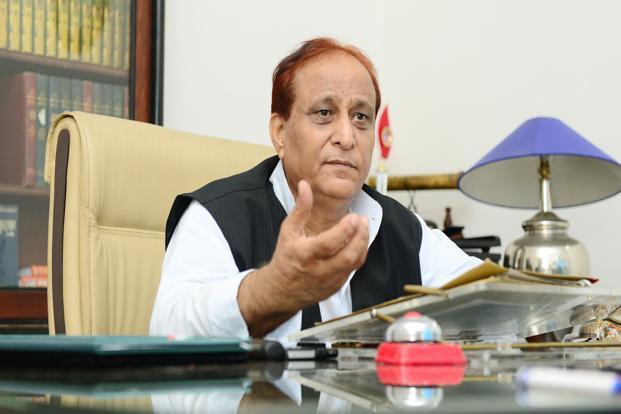 आजम के खिलाफ FB पर पोस्ट करना भाजपा नेता को पड़ा भारी, FIR दर्ज
