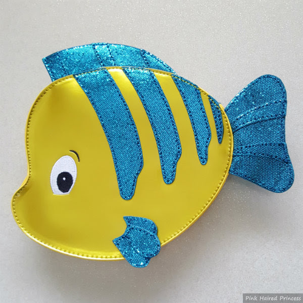 danielle nicole disney the little mermaid flounder bag