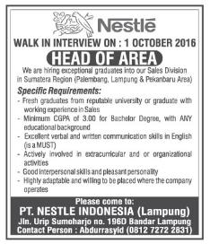 PT. Nestlé Indonesia (Lampung)