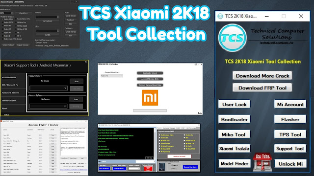 TCS Xiaomi 2K18 Tool Collection Free Download
