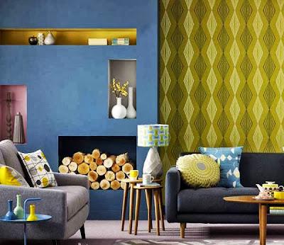 interior dinding ruang tamu elegant   interior rumah minimalis