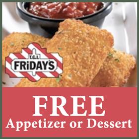 Tgi fridays free dessert coupon / Recent Deals