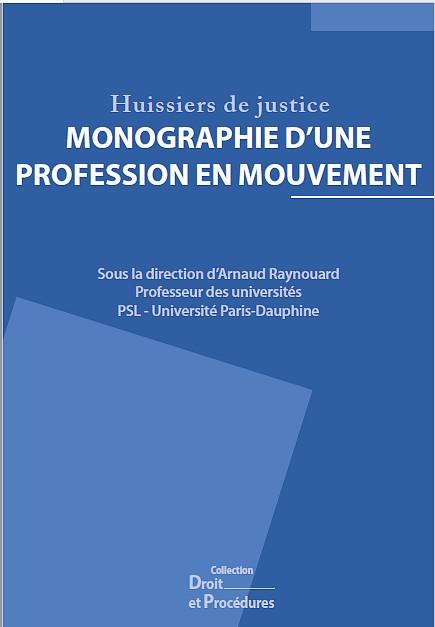 Vronique Chemla  Huissiers De Justice Monographie DUne