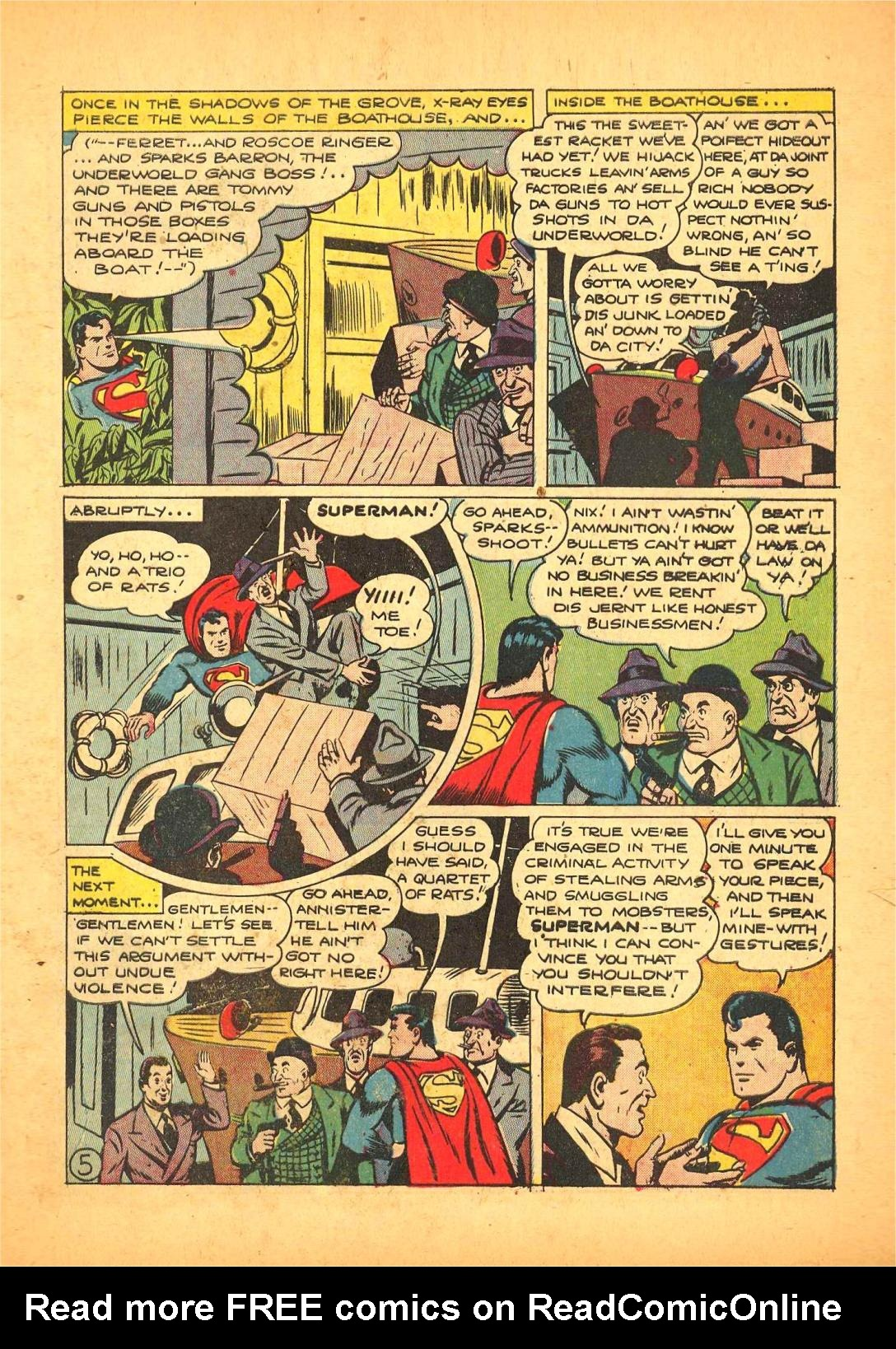 Read online Action Comics (1938) comic -  Issue #66 - 6