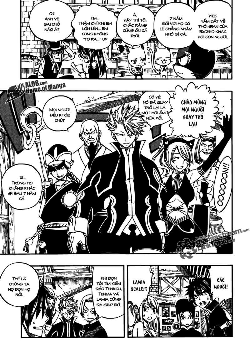 Fairy Tail chap 256 trang 7