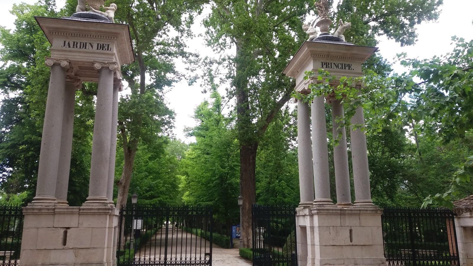 Madrid con encanto el jard n del pr ncipe en aranjuez for Restaurante jardin del principe en aranjuez