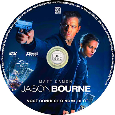 Label DVD Jason Bourne