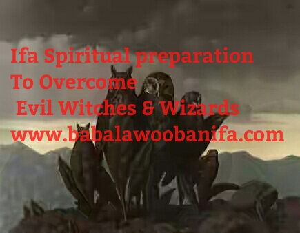 BABALAWO OBANIFA: Ifa preparation To Overcome Aje ( Witches and