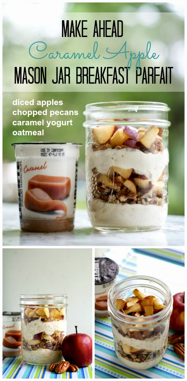 Caramel Apple Parfait Recipe | thetwobiteclub.com | #yogurtperfection #makeahead #healthy #ad