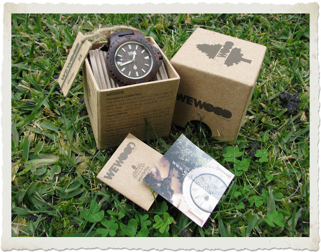packaging orologio date wewood
