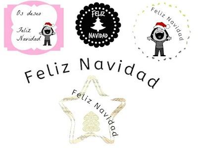 Felicita la Navidad con estos cartelitos gratis para tu blog