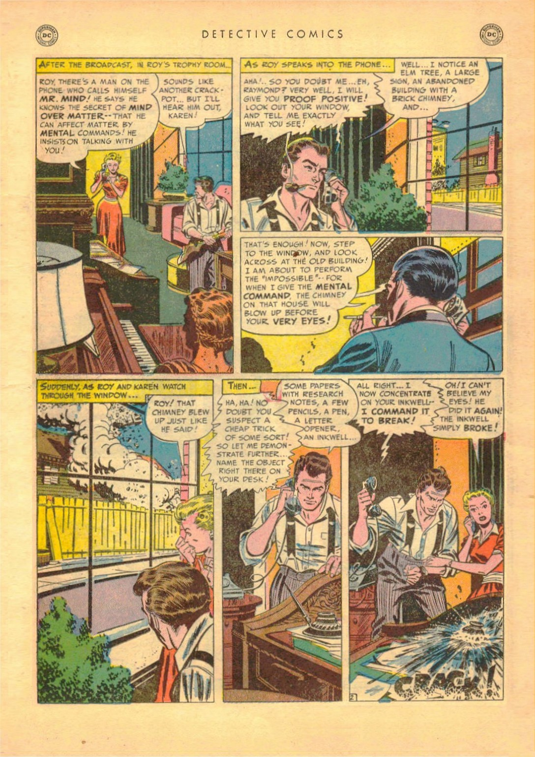 Read online Detective Comics (1937) comic -  Issue #161 - 18