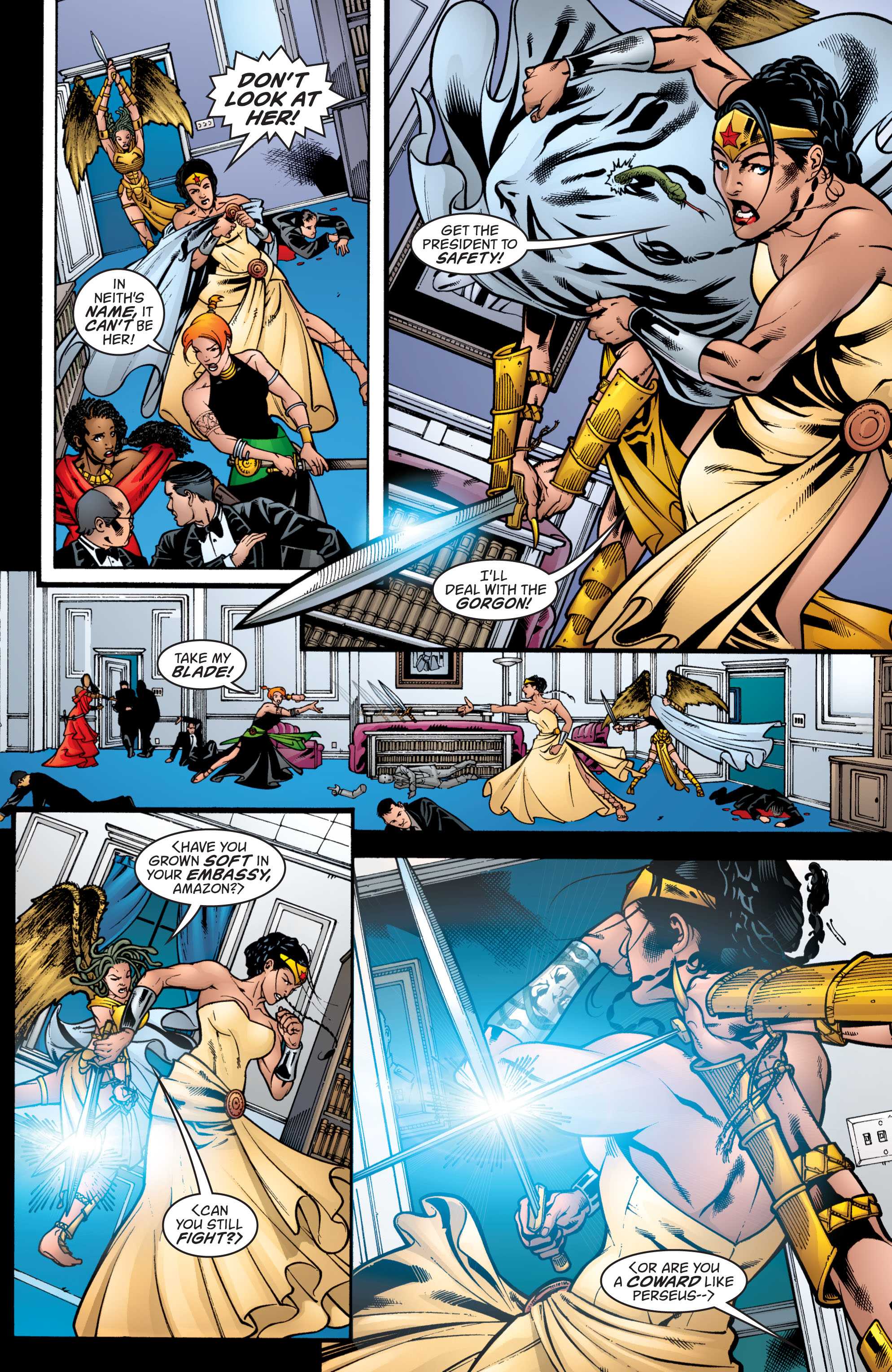 Read online Wonder Woman (1987) comic -  Issue #208 - 19
