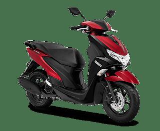 Yamaha FreeGo 125 Mettalic Red