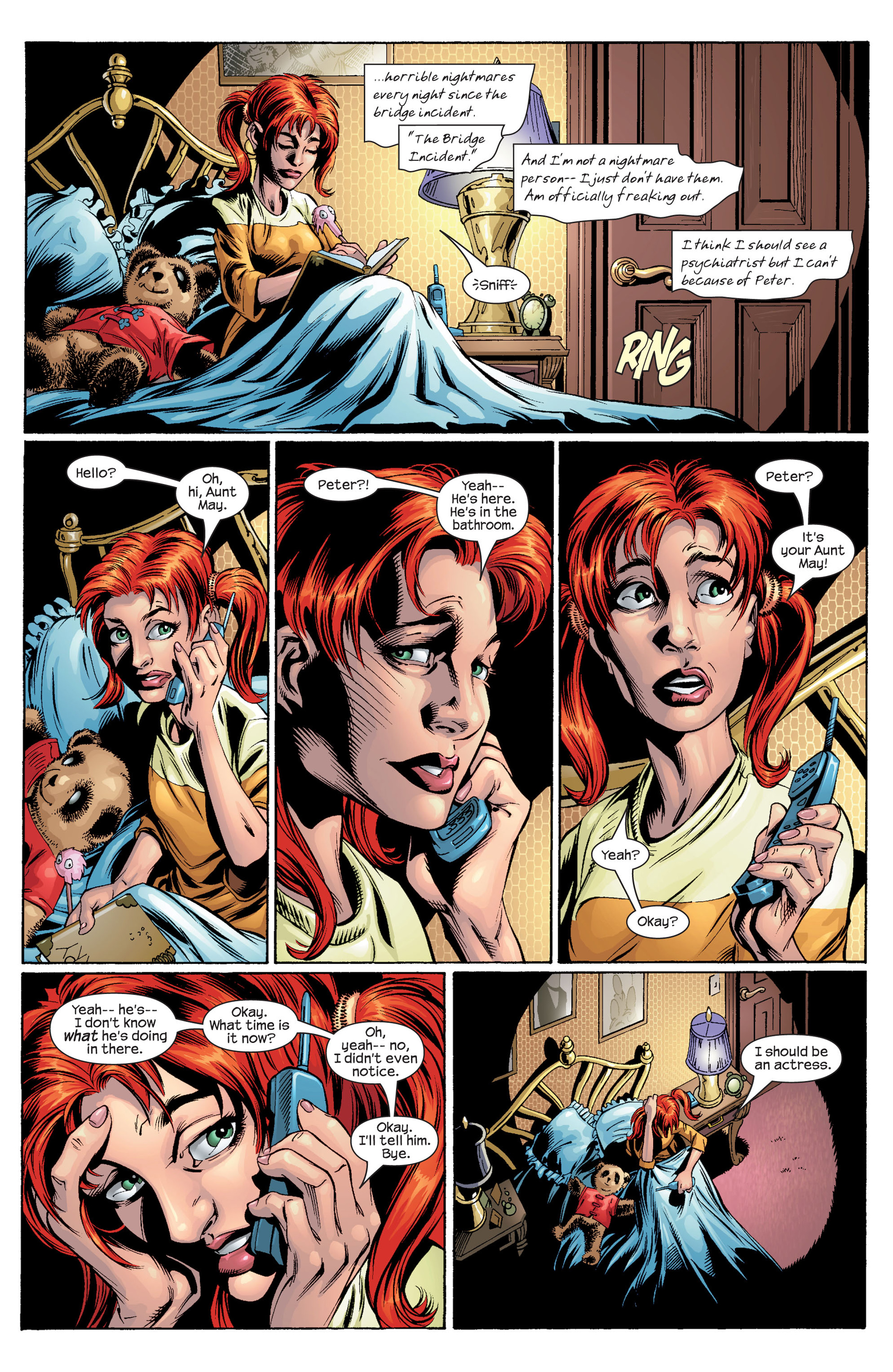 Read online Ultimate Spider-Man (2000) comic -  Issue #30 - 9