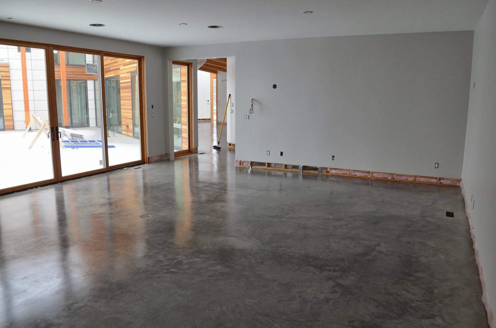 Mode Concrete Natural Concrete Floors Look Amazing In