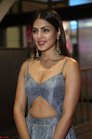 Rhea Chakraborty in a Sleeveless Deep neck Choli Dress Stunning Beauty at 64th Jio Filmfare Awards South ~  Exclusive 113.JPG