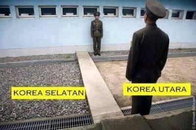 Korea-Selatan+Korea-Utara+Border