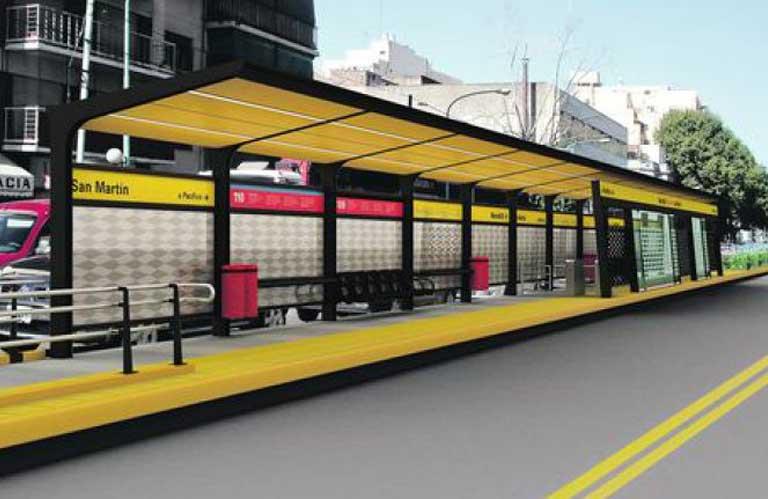 Inauguran hoy el sexto Metrobus porteño, sobre avenida San Martín