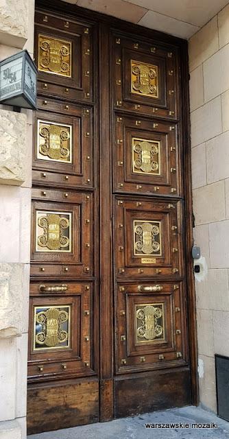 drzwi Warszawa Warsaw Nowogrodzka Państwowy Bank Rolny monumentalizm Marian Lalewicz architektura architecture