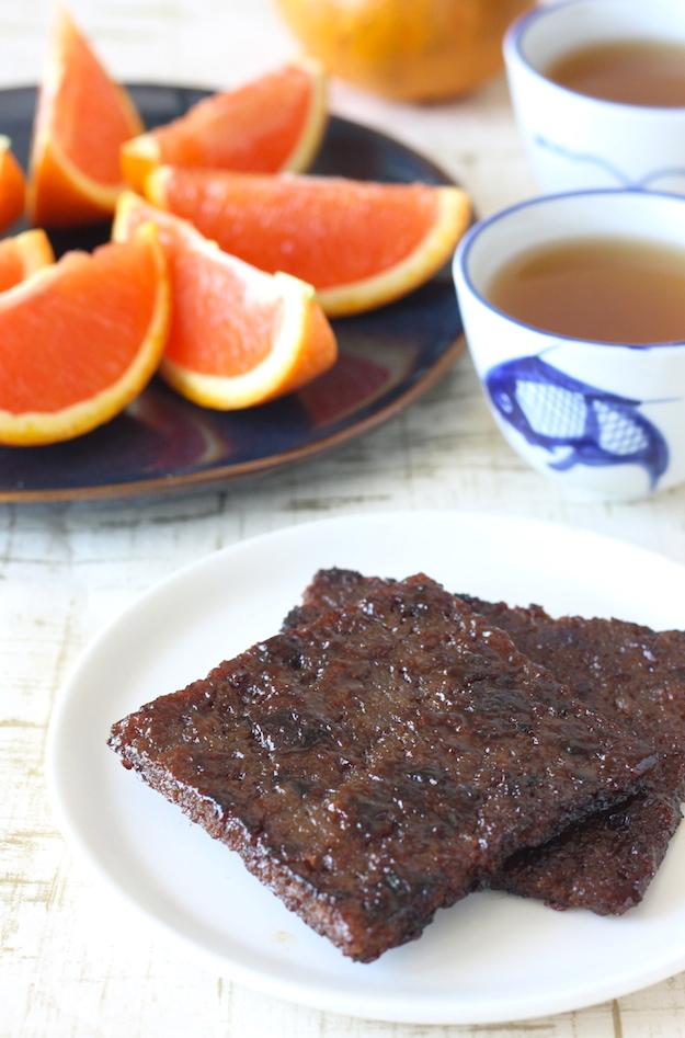How to make Chinese BBQ Pork Jerky Bak Kua recipe by SeasonWithSpice.com
