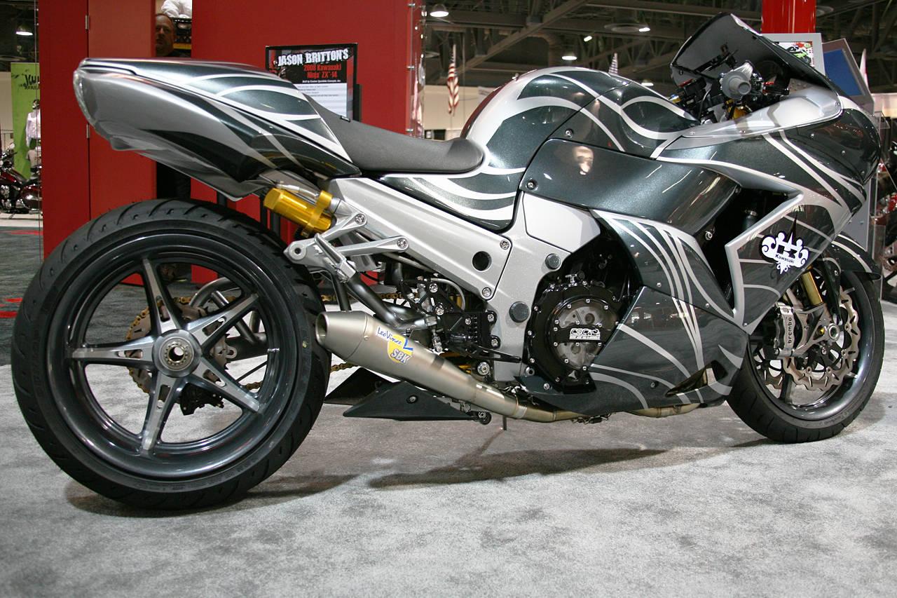 Motorcycles Kawasaki Zx 14 Ninja