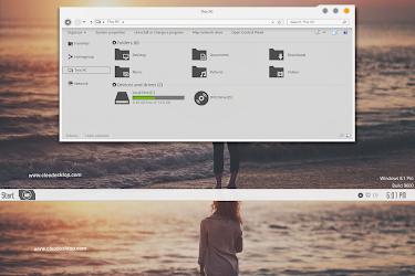 Aero Dark And Light Combo Pack Theme Windows 8 1 - Cleodesktop I