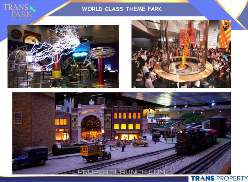 World Class Theme Park Transpark Cibubur