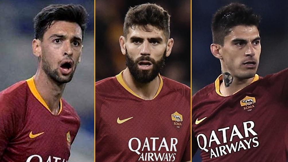 Pastore, Fazio y Perotti están en la lista de negociables de la Roma
