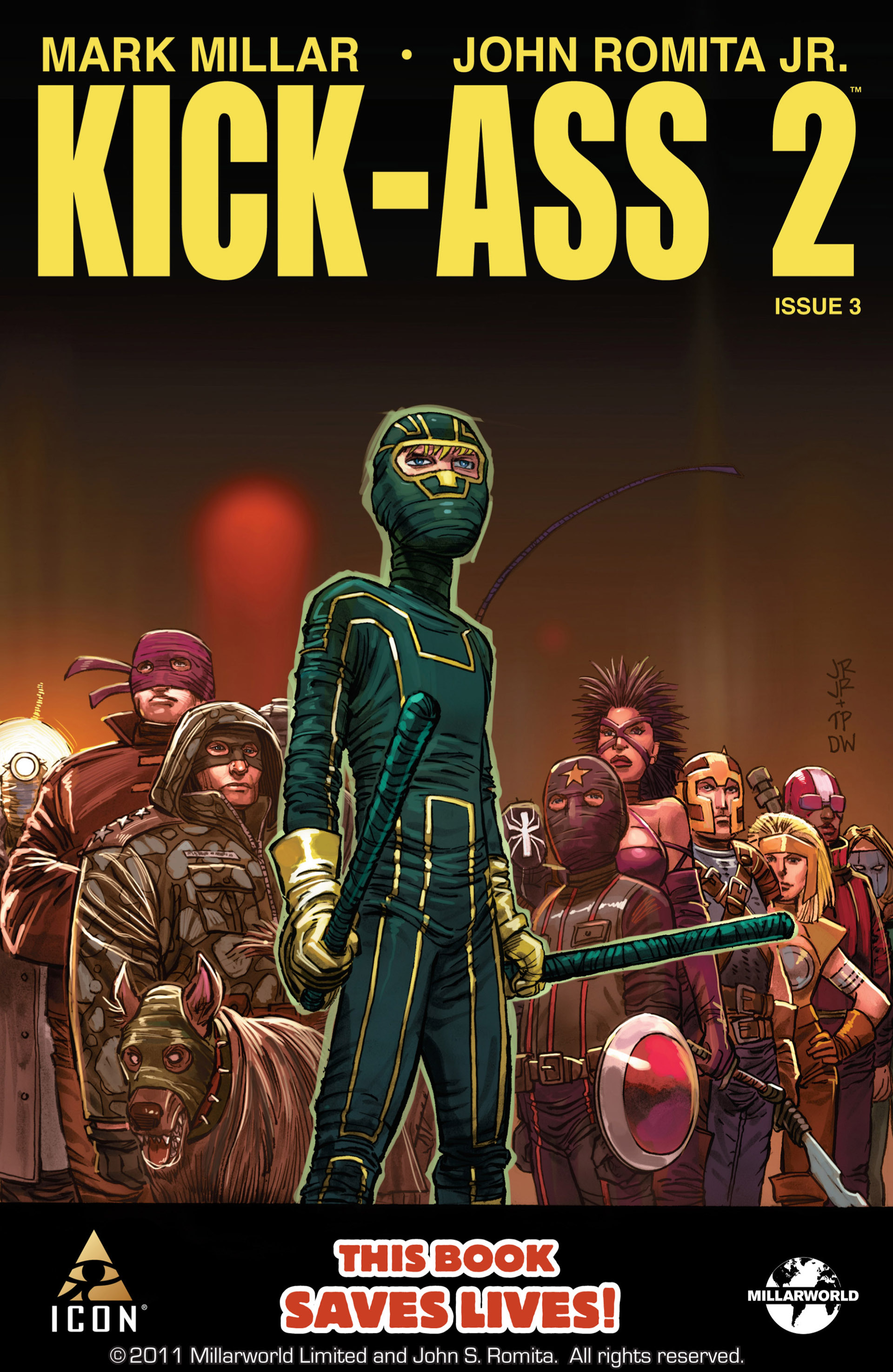 Kick-Ass 2 issue 3 - Page 1
