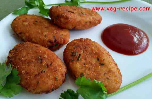 Corn Tikki Recipe | Corn Cutlets Recipe