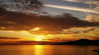 günbatımı, manzara