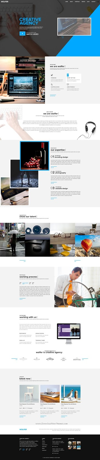 Download PSD Template