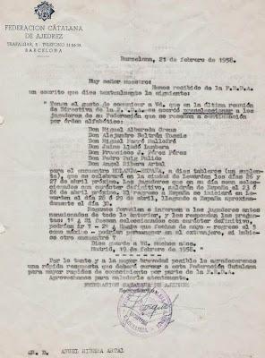 Ribera seleccionado para participar en el encuentro Holanda - España de 1958