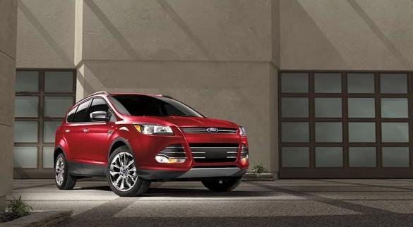 2016 Ford Escape red