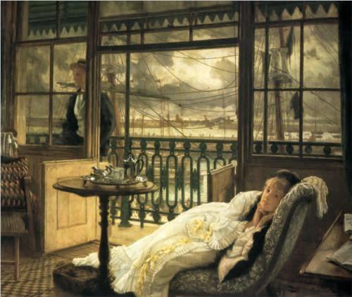 Uma Tempestade Passageira - As principais pinturas de James Tissot ~ Francês