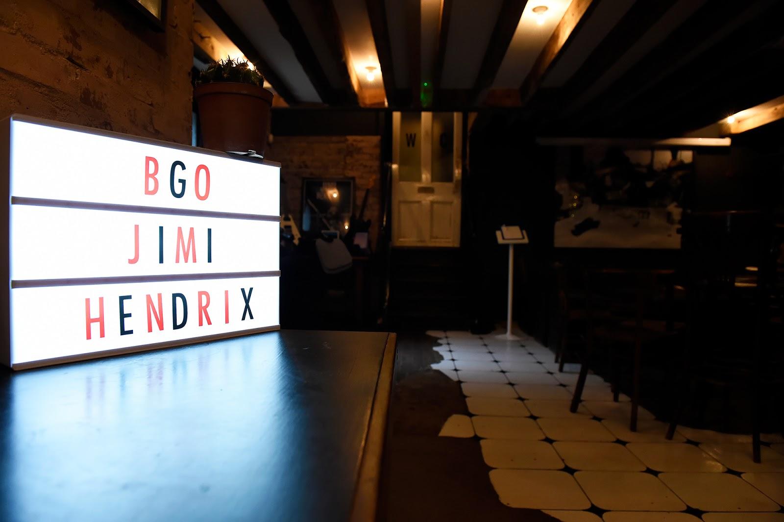 The #bgoHendrix Gig