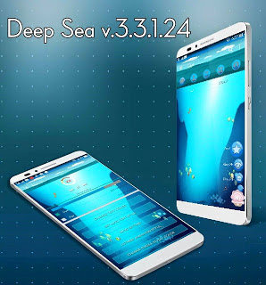 BBM Mod CHAT ME - Deep Sea Theme v3.3.1.24 Apk Terbaru for Android Gratis