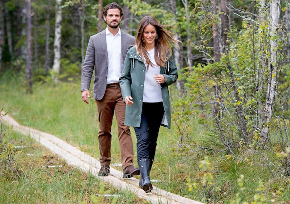 Princess Sofia and Prince Carl Philip visit Varmland