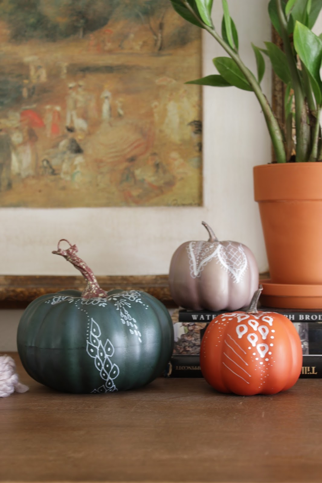 The Global Styler: Henna inspired pumpkins