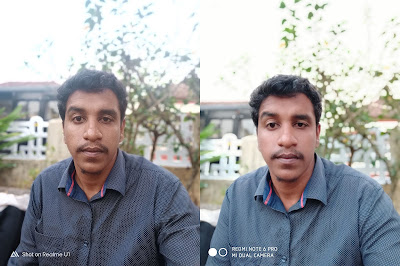 Realme U1 vs Xiaomi Redmi Note 6 Pro Camera comparison