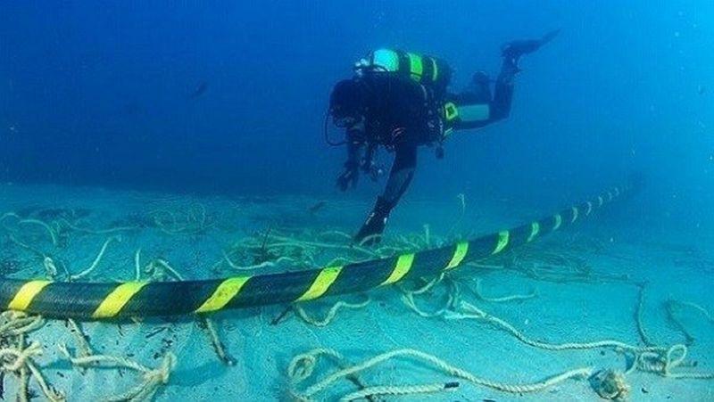 Listrik Pulau PIsang, Survei Kontur Bawah Laut Selesai