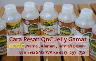 cara pesan qnc jelly gamat asli